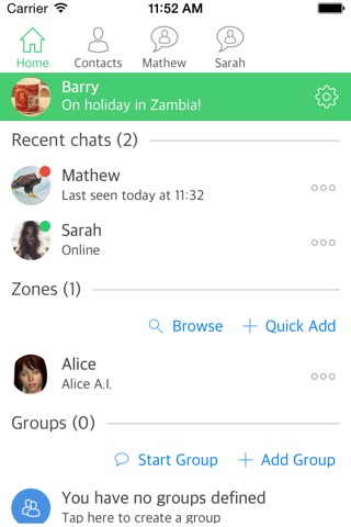 ZiNG screenshot 1