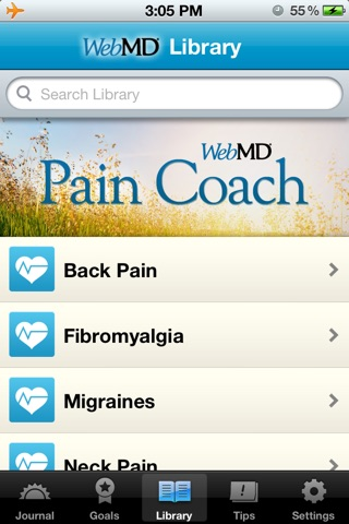 WebMD Pain Coach screenshot 4