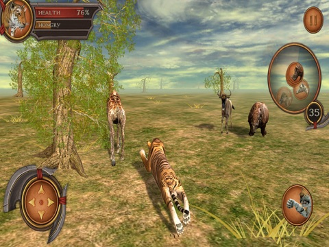 Tiger Adventure 3D Simulator Pro для iPad