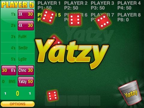Screenshots of Yatzy Addict for iPad