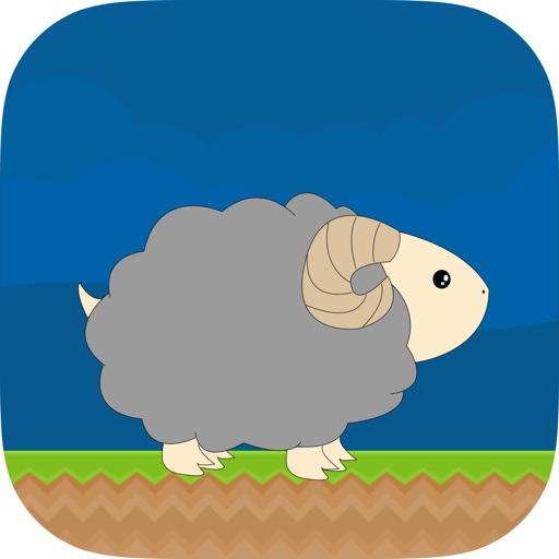 Hippy the Ram - Endless vertical runner iOS App