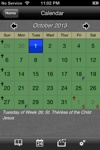 iMissal Catholic (Mass Reading, Calendar, Lectionary) screenshot 2