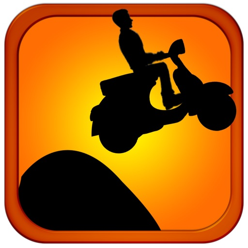 Scooter Suicide HD fun free arcade jumping stunt game iOS App