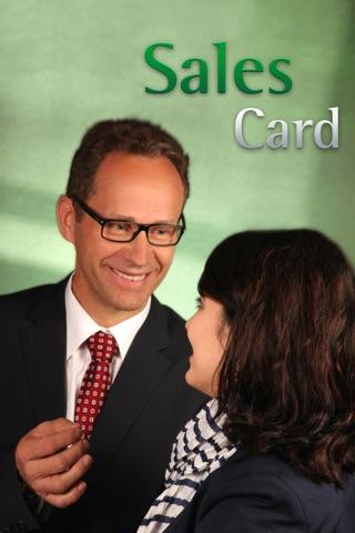 Screenshot of SalesCard