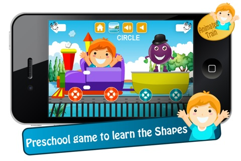 Toddlers Shapes Train screenshot 2