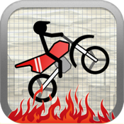 Stick Stunt Biker icon