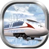 Snow Bullet Train Driving Simulation - Face the stormy & snow,  becoming a master speed bullet train driving simulation