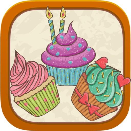 Cupcaker - Match Three Cupcakes - FREE Tap Puzzle Fun iOS App