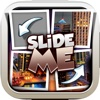 Slide Me Puzzle : Beautiful City and Building Tiles Quiz Picture Games