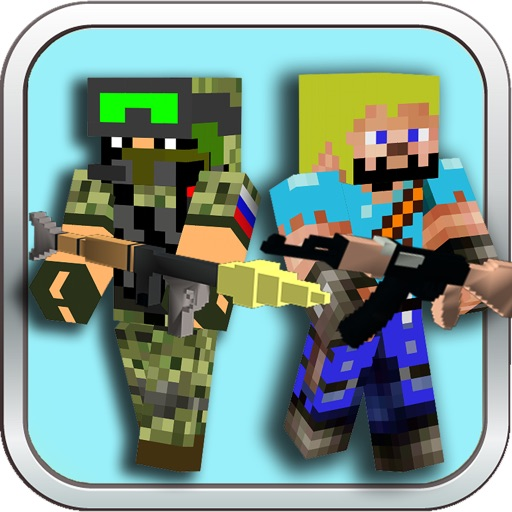 Ace Cube Ops - MC Temple Notch FPS Game iOS App