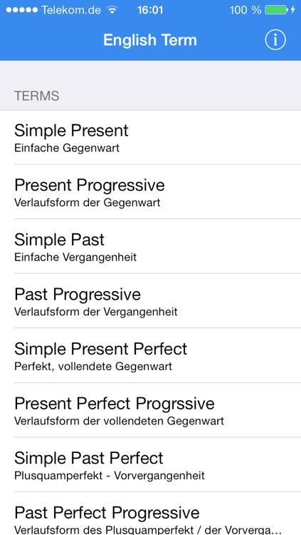 wann benutzt man simple present