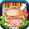 Burger Delivery Game: For Pig Cerdita Version for Kids