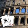 Solitär-Kartenspiel - Rom