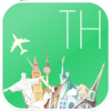 Thailand Fly & Drive. Offline road map, flights status & tickets, airport, car rental, hotels booking.