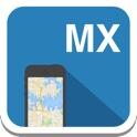 México (pu. Tijuana, Acapulco) mapa offline, guía, clima, hoteles. Libre GPS navegación. icon