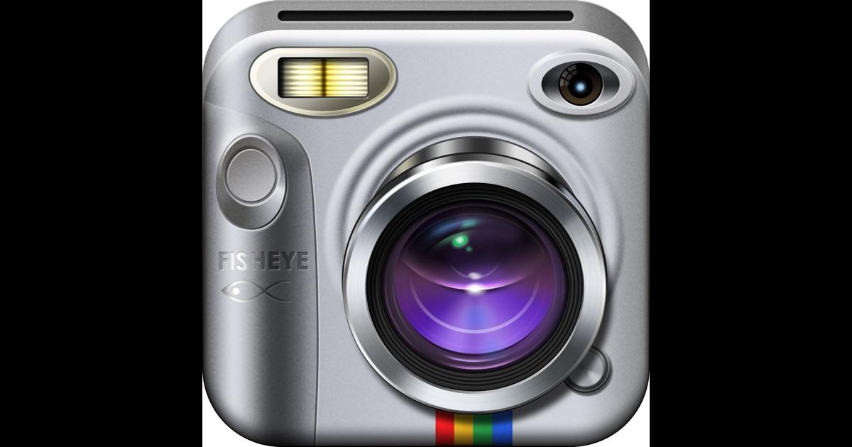 Instafisheye fisheye lens for instagram on the app store for Fish eye lense app