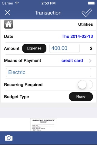 Expense Tracker & Easy Budget screenshot 2