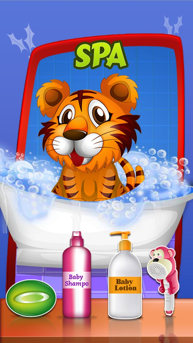download Baby pet care – Free animal dress up spa and salon game for girls & kids appstore review