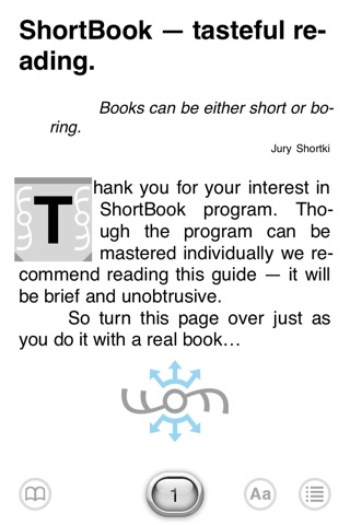 ShortBookLE screenshot 1