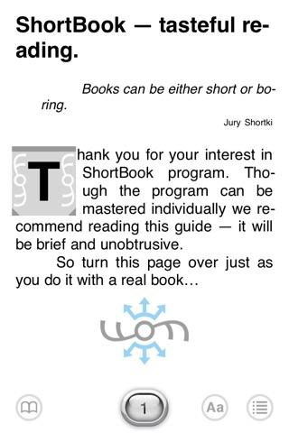 ShortBookLE screenshot 1