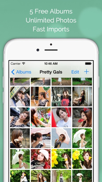 Screenshot #5 for Photo Tank FREE - Lock Photos with Passcode