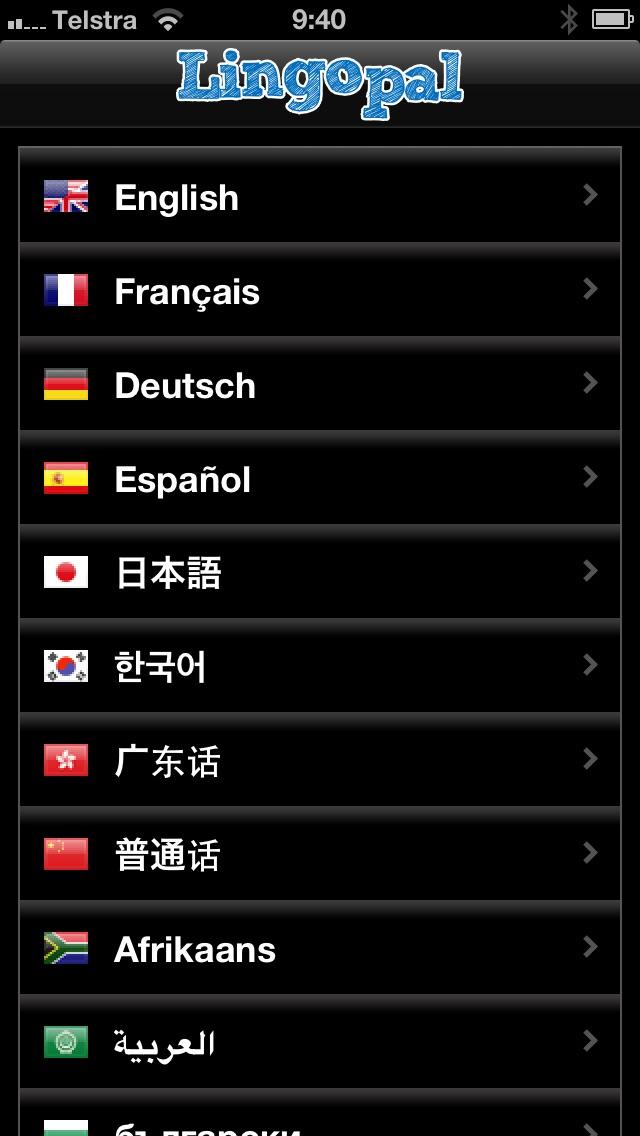 Lingopal Polonais LITE - guide de conversation audioCapture d'écran de 4