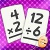 Multiplication Et Division Maths Flashcard Jeux De Match Pour Les Enfants En 2E Et 3E Année