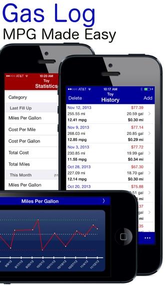 gas log lite mpg fuel calculatorを app store で