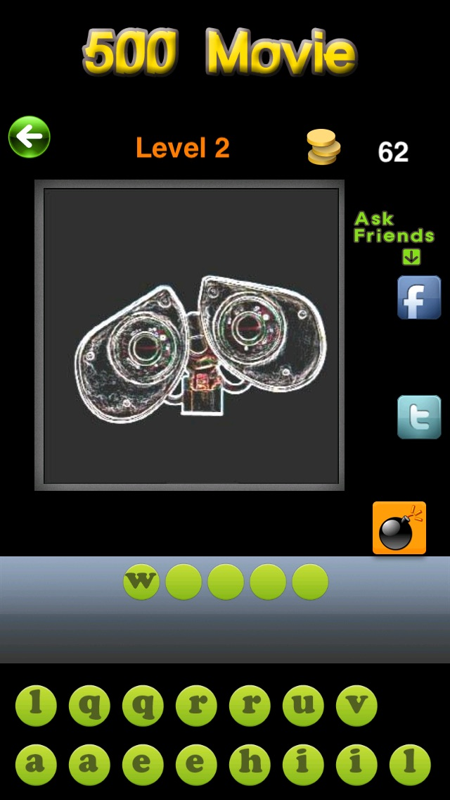 Screenshots of 500 Movie : guess the film or what's icon me fun non despicable quiz for iPhone