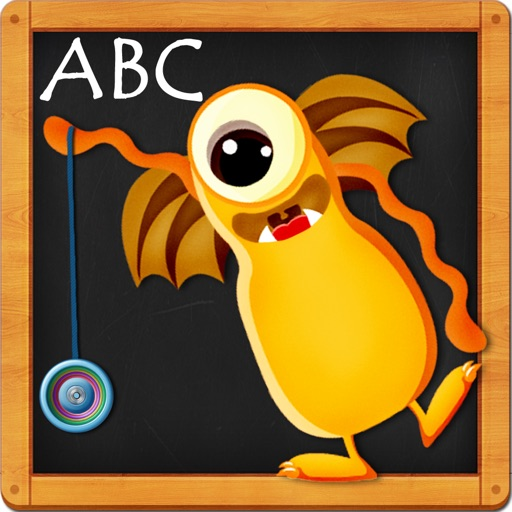 Monster ABCs – Letters Handwriting Game for Kids iOS App