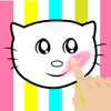 A Kid Coloring and Paint Game For Hello Kitty Version