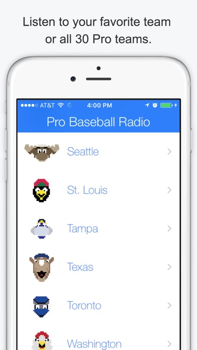 GameDay Pro Baseball Radio - Live Playoff Games, Scores, Highlights, News, Stats, and Schedules Screenshot
