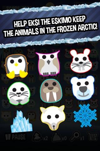 Frozen Arctic - Fun Match Three Puzzle Game screenshot 2