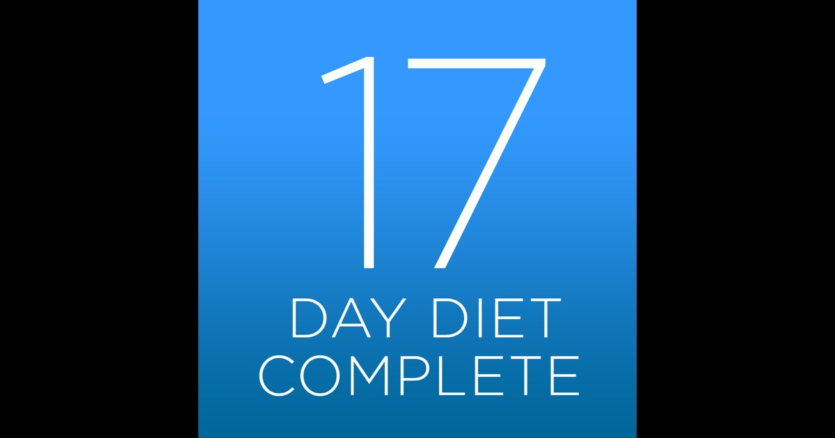 17 Day Diet Complete on the App Store