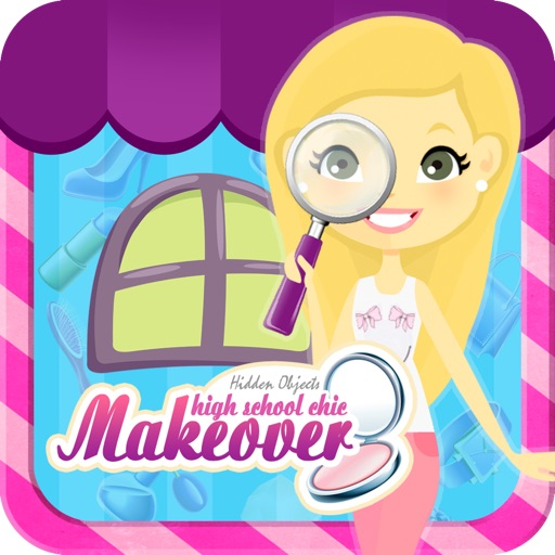 Hidden Objects : High School Chic Makeover iOS App