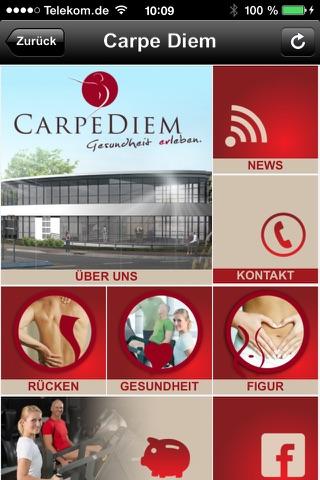 Carpe Diem, Zentrum für Vitalität screenshot 1