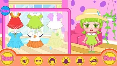 ベルのパーティーは、ヘアサロンをドレスアップ(Happy Box) 無料の子供を散髪ゲームのスクリーンショット4