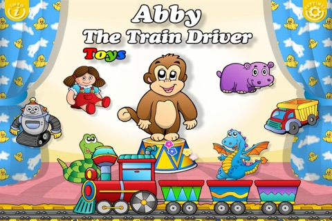 Abby - Toys Train - Learn Toys - Interactive Games for Children (Baby, Toddler, Preschool) HD Free screenshot 2