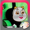 Kids Coloring Books For Thomas and Friend Edition