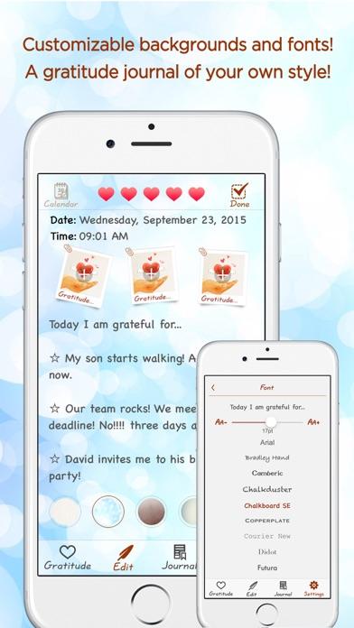 Gratitude Journal review screenshots