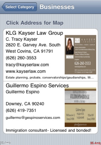 Gdirect Christian Business Directory screenshot 3