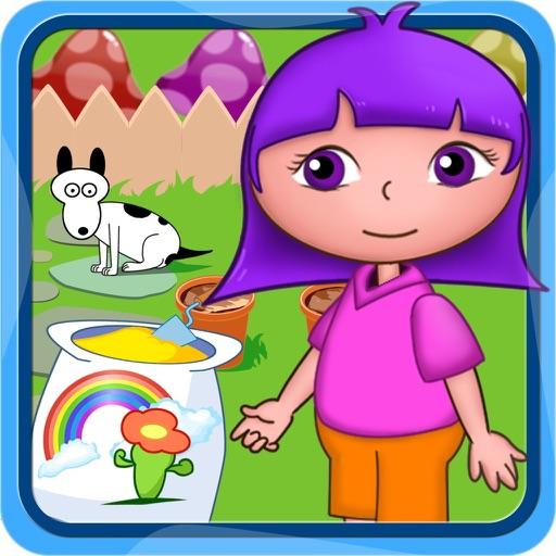 Flores plantación jardín juegos gratis de Dora para niños y ...