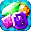 Diamond Crush Mania - 3 puzzle match splash smash game