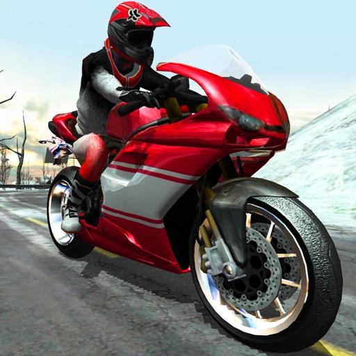 Bike Rider - Frozen Highway Rally Race HD Full Version iOS App