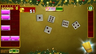 download Awesome Christmas Casino Yahtzee Joy - good Vegas dice betting game apps 0