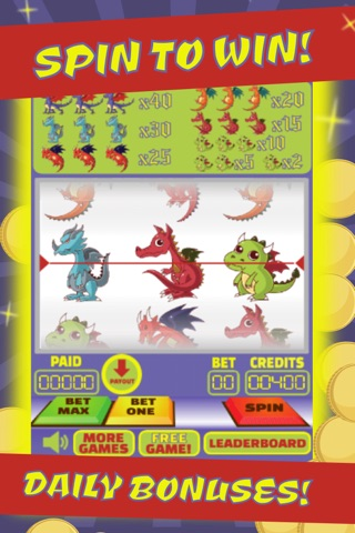 Dragons Slot Machine & Poker: Bet On It & Spin To Win! screenshot 2