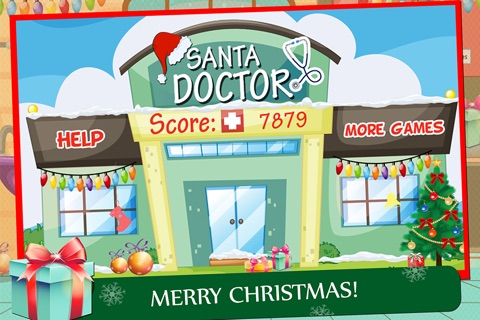 Santa Doctor Kids screenshot 1