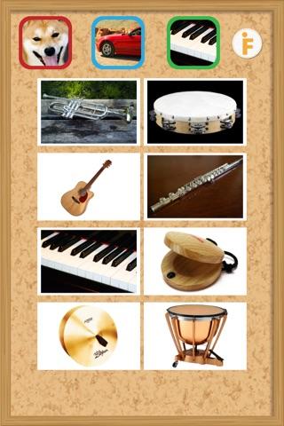 鳴き声タッチ-動物・乗り物・楽器の写真と音 screenshot 4