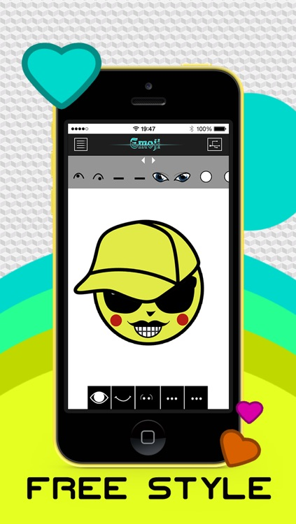 Make Emoji Emoticon Pro - Emoticons Art for Facebook, Twitter, Whatsapp,  WeChat, SMS and More by Scott Cawthor