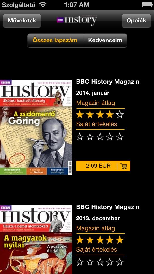 Bbc History Magazin review screenshots
